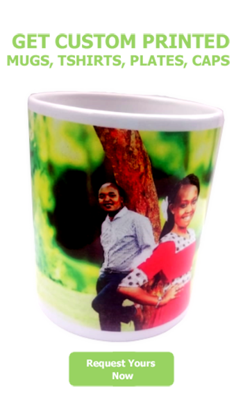 Get Custom printed mugs, plates, tshirts etc.