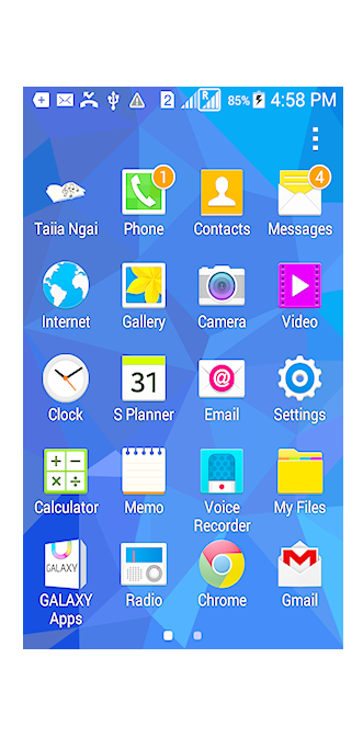 Taiia Ngai App Icon on Phone Screen
