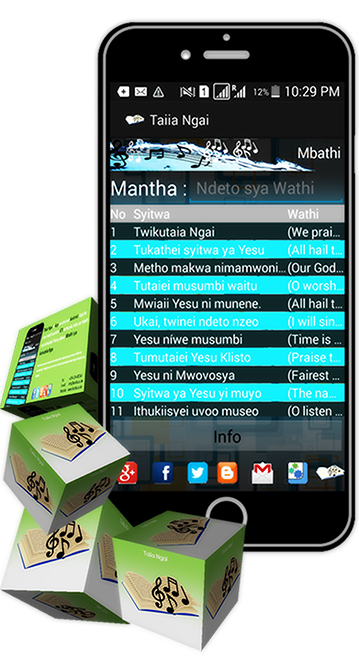 Kamba Hymns Android App Package